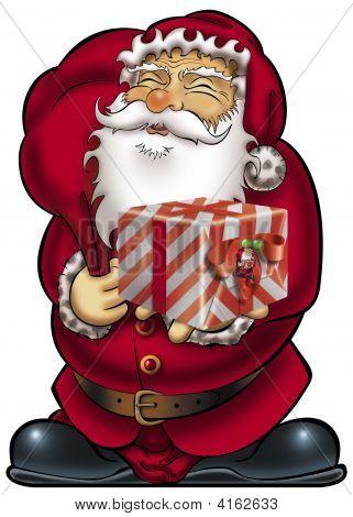 Geschenk von Santa claus