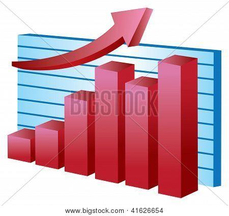 Stock Vector Chart