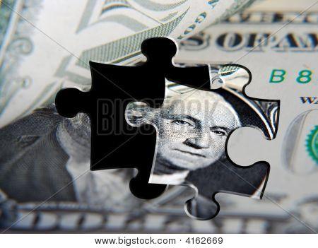 EUA dólar quebra-cabeça