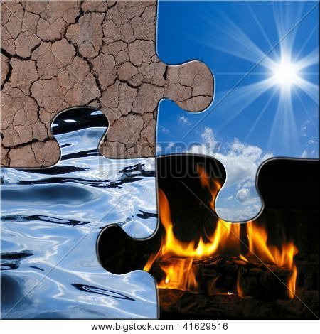 the four elements puzzle