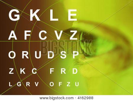 Myopia Astigmatism Ipermetropia Oculist Test Eyes Pathology