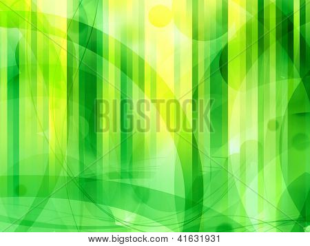 Green Modern Abstract Background