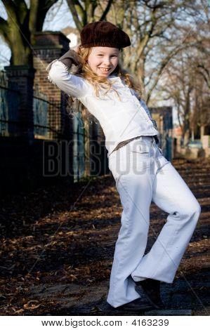 Happy Fashion Girl