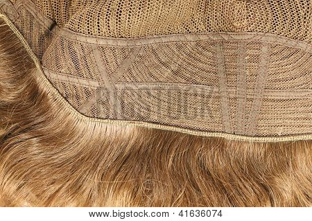 Inside Of The Wig Closeup