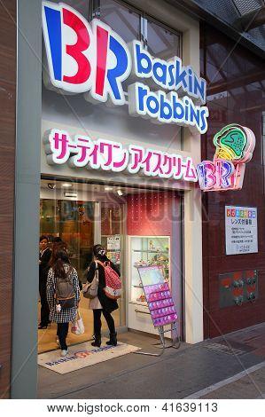 Baskin Robins Ice Cream