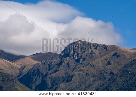 Andes Mountains - Quito, Ecuador