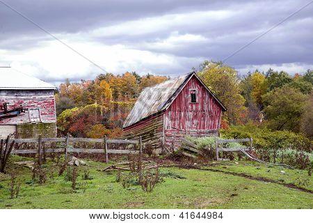 Vintage Farm Yard