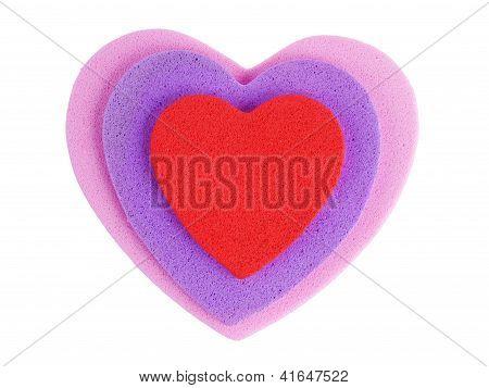 Foam Shapes Hearts