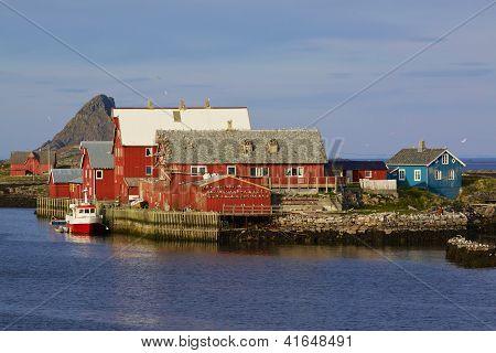 Puerto pesquero de Nordic