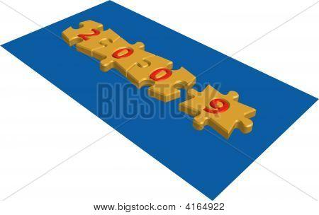 2009 Puzzle Blocks