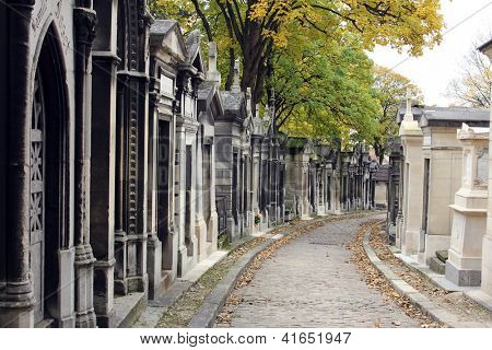 Cemitério Pere Lachaise de Paris, França