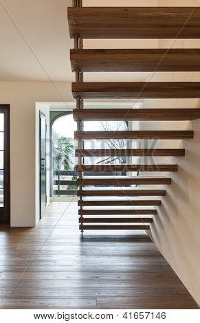 Interior; modern loft; staircase