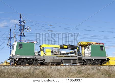 Lokomotivausbesserung