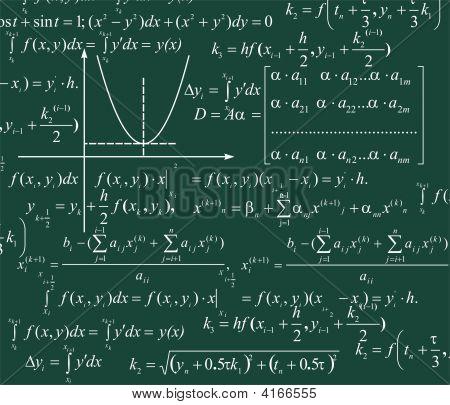 Mathematik-Hintergrund