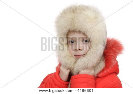 The Girl In A Fur Cap