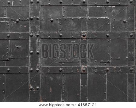 Fragment of Iron door