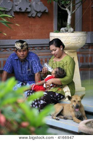indonesische Familie