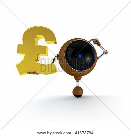 Robot Keep Pound Sign