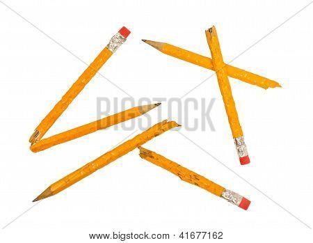 Broken Chewed Pencils XXXL