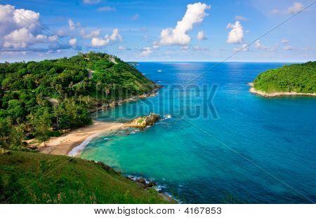 Beautiful Tropical Beach In Phuket