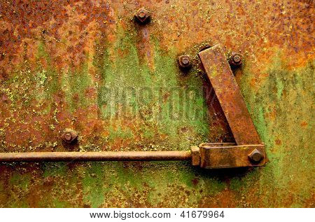 Rust, Bolts and Hinge