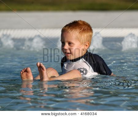 Boy In Pool