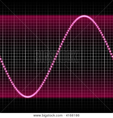 Purple Soundwave