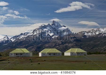 The Farm Of Estancia Cristina In Los Glaciares National Park