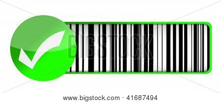 Checkmark Barcode Upc
