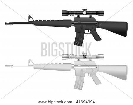 M16 Sniper Set
