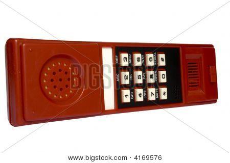 Keyboard On A Telephone Tube