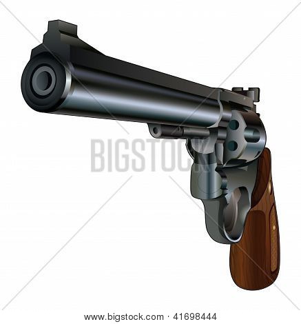 Revolver Pointing At You