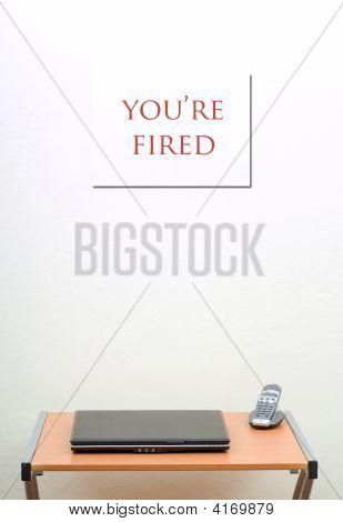 ¡ Estás despedido