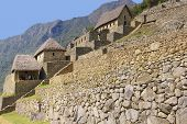 Panorama - Terraced Fields And Guardian Huts