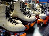 stock photo of roller-skating  - These well - JPG