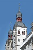 foto of bonnes  - Name of Jesus Church in the center of Bonn Germany - JPG