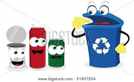Recycling Tin