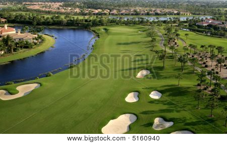 Golf Course Flyover