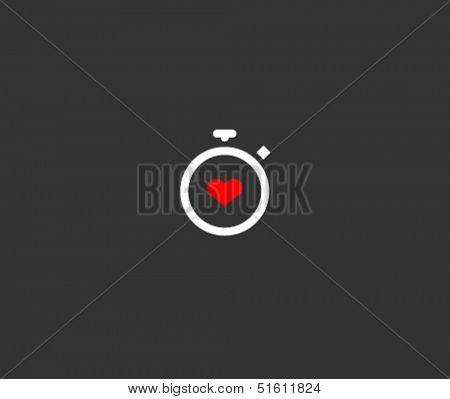 Stopwatch symbol