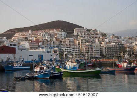Harbor of Los Cristianos, Tenerife