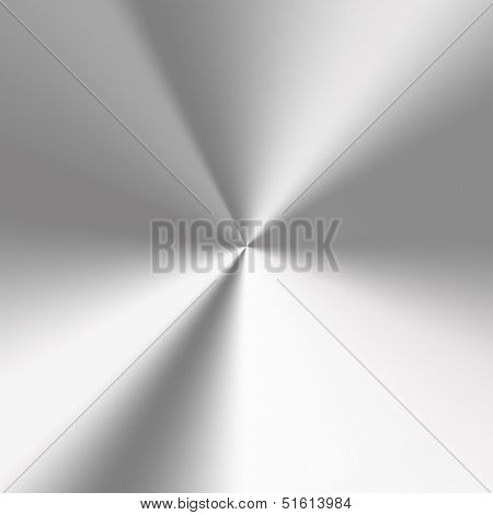 Grey shiny stainless steel metal background