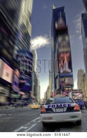 Police In Times Square