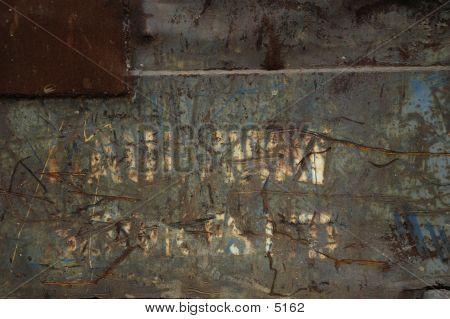 Rusted Bin