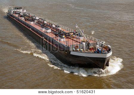 A Fuel Cargo Ship