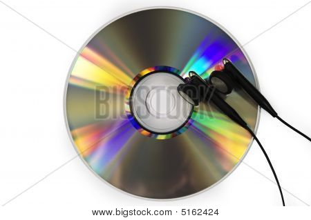 Dvd And Earphones
