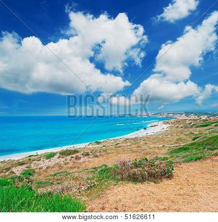 Clouds Over San Giovanni Beach