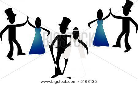 Stickmans Wedding...