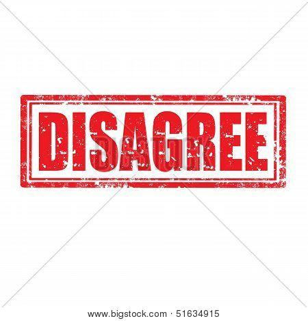 Disagree-stamp
