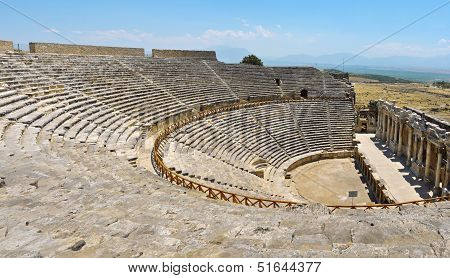 Hierapolis Theater Ruins