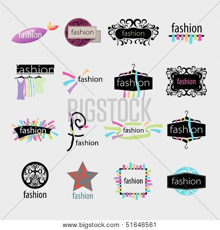 Collection Of Vector Icons Fashion Accessories